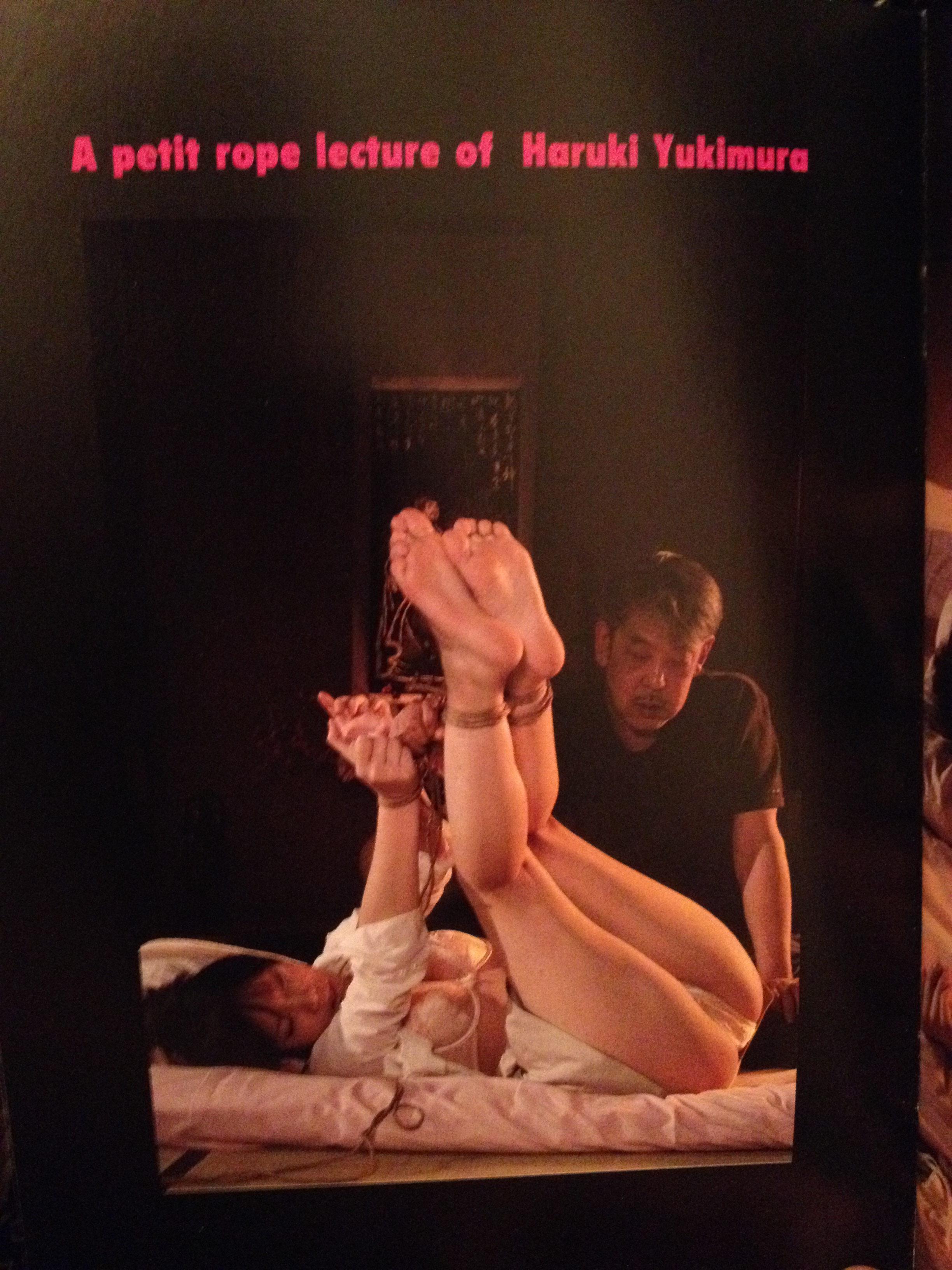 """MARI MORIKAWA SM BONDAGE 5 Yukimura Haruki: """"A petit rope lecture"""""""