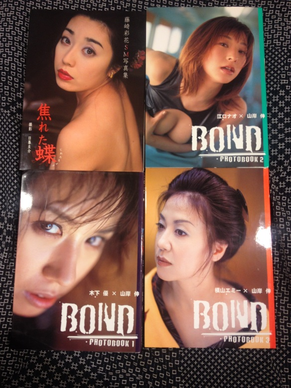 "Yukimura Haruki: ""Asereta cho, SM Photos"" (2001) and ""Bond Photobook"" 1–3 (2002)"